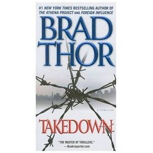 Takedown by Brad Thor (2006, CD)