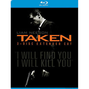 Taken (Blu-ray Disc, 2009, 2-Disc Set, E...