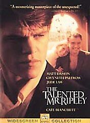 The Talented Mr. Ripley (DVD, 2000, Gene...