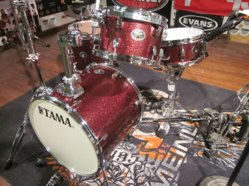"Tama Silverstar 4pc Metro Jam, 16"" Bass Drum Set, Vintage Burgundy VID! Kickport in Musical Instruments & Gear, Percussion, Drums 