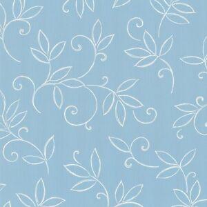 Tapete p s finesse 05622 60 floral blumen blau wei for Tapete hellblau muster