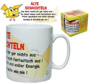 Tasse-Riesen-Becher-ALTE-SCHACHTEL-Kaffeebecher-XXL-750-ml-Kaffeepott-Geschenk