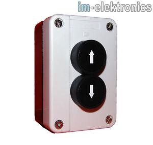 taster 2 fach drucktaster dreifach ap aufputz garagentor tor antrieb funk ip65 ebay. Black Bedroom Furniture Sets. Home Design Ideas
