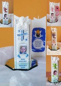 Taufkerze-Kommunionkerze-mit-Foto-3D-Engel-Junge-Maedchen