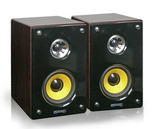 "Technical Pro MRS-6 6"" Studio Monitor Speakers in Musical Instruments & Gear, Pro Audio Equipment, Speakers & Monitors 