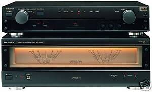 Technics-SU-A909-EX-DISPLAY-AUDIOPHILE-PRE-POWER-AMPLIFIER