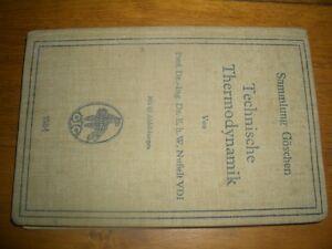 Technische-Thermodynamik-Sammlung-Goeschen-1934-Nummer-1084