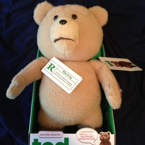 Ted Bear 16 Inch Talking Rated R Moving Mouth Bear in Dolls & Bears, Bears, Other | eBay