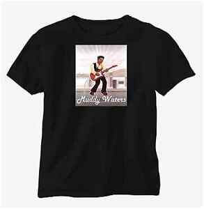 Tee Shirt New Unisex Featuring Blues Legend Muddy Waters
