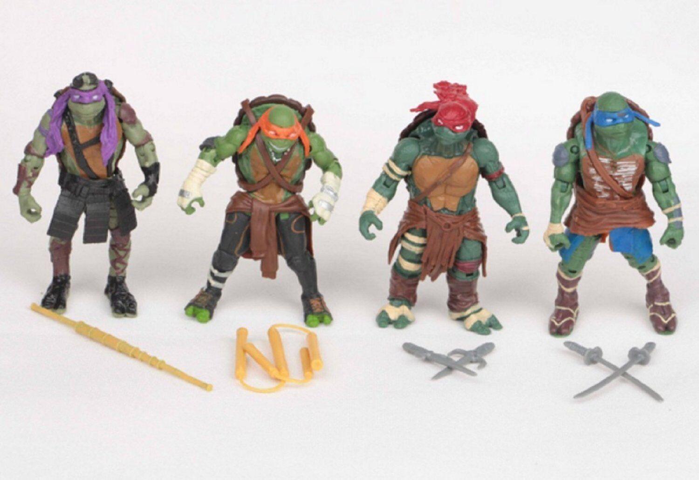 Ninja Turtle New Movie Toys : Teenage mutant ninja turtles movie action figures set leo