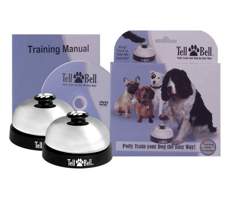 Popular Potty Training Dog Bell Creative Tattoos Removal
