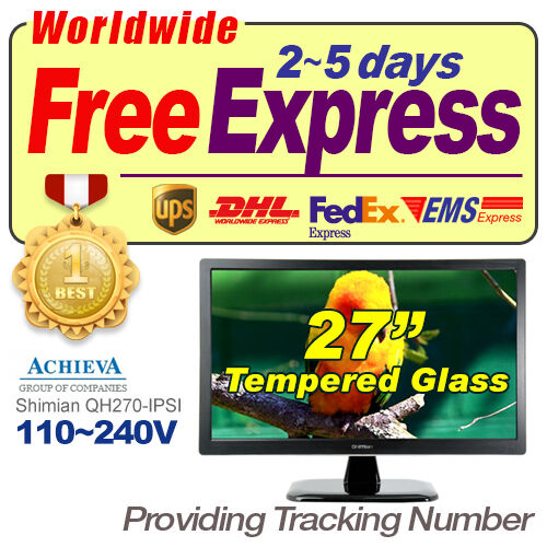 "*Tempered Glass* New ACHIEVA Shimian QH270-IPSI 27"" LED 2560x1440 S-IPS Monitor in Computers/Tablets & Networking, Monitors, Projectors & Accs, Monitors 