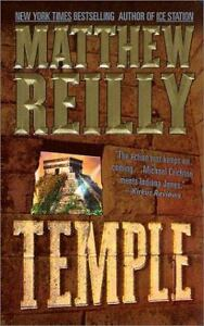 Temple by Matthew Reilly (2001, Hardcove...