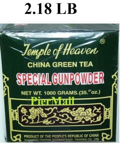 Temple of Heaven - Special Gunpowder China Green Tea 1000g/35.27 Oz ~ 1 Kilo in Home & Garden, Food & Wine, Tea | eBay