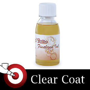 Temporary tattoo airbrush clear top coat paint body ink ebay for Temporary tattoo airbrush paint