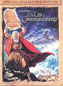 The Ten Commandments (DVD, 2004, 2-Disc ...