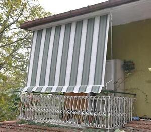 tende impermeabili da esterno tenda da sole a caduta amalfi con ganci ebay