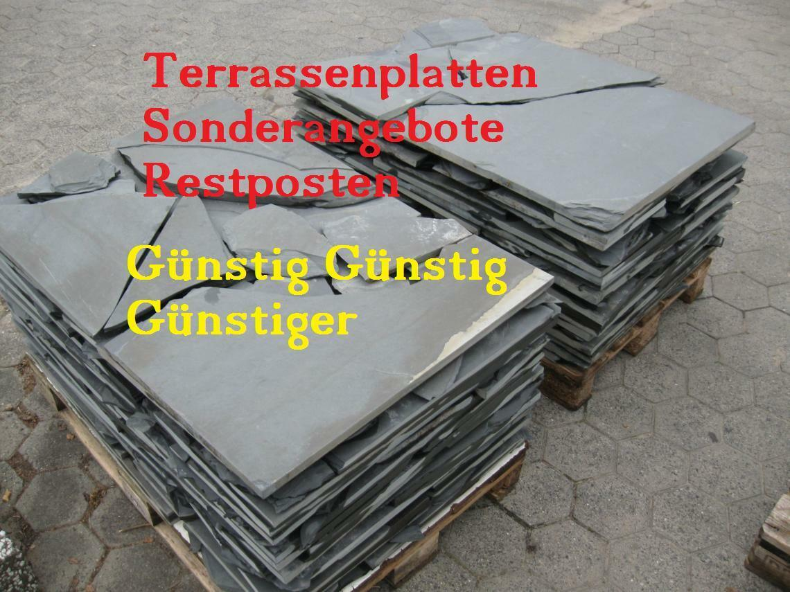 terrassenplatten sonderangebote naturstein restposten bodenplatten g nstig ebay. Black Bedroom Furniture Sets. Home Design Ideas