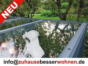 terrassen berdachung carport berdachung aluminium terrassendach vsg glas 4x4m ebay. Black Bedroom Furniture Sets. Home Design Ideas