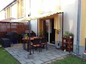 terrassen berdachung pergola feststehende markise. Black Bedroom Furniture Sets. Home Design Ideas