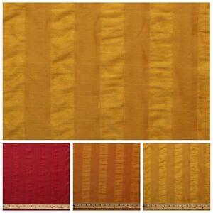 Tessuto misto seta raso a righe per arredamento for Tappezzeria a righe