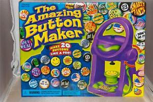 The amazing button maker new in box crafts toys children for Michaels crafts button maker