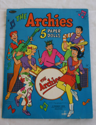The Archie's Paper Doll Set in Dolls & Bears, Paper Dolls, Vintage | eBay