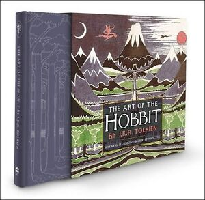 The-Art-of-the-Hobbit-J-R-R-Tolkien-Hardcover-Book-NEW