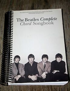 The beatles complete guitar chord lyrics songbook 194 songs spiral