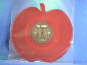 The-Beatles-Love-Me-Do-lim-red-apple-shaped-7-neu