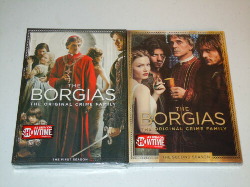 The Borgias: The Complete First & Second Seasons (6 DISCS DVD SET 2011 & 2013) in DVDs & Movies, DVDs & Blu-ray Discs | eBay