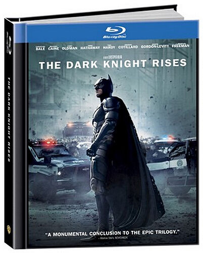 The Dark Knight Rises Blu-ray + DVD Limited Edition Digibook (Target Exclusive) in DVDs & Movies, Storage & Media Accessories | eBay
