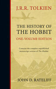 The-History-of-the-Hobbit-by-J-R-R-Tolkien-John-Rateliff-Hardback-2011