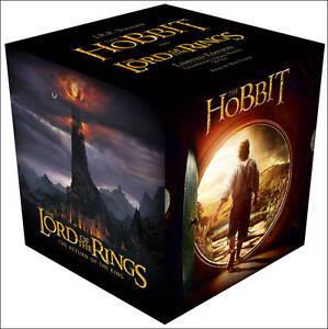 The-Hobbit-and-Lord-Of-The-Rings-Complete-Gift-Set-Tolkien-J-R-R-New-Condi