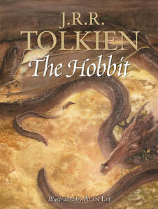 The-Hobbit-or-there-back-J-R-R-Tolkien-Illustrator-Alan-Lee-Hardback-1997