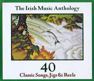 The-Irish-Musik-Anthology-40-Classic-Songs-Jigs-Reels-CD-Doppel-CD