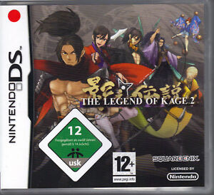The-Legend-of-Kage-2-Nintendo-DS-ohne-Beschreibung