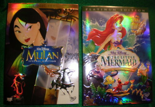 The Little Mermaid and Mulan Disney dvds in DVDs & Movies, DVDs & Blu-ray Discs | eBay