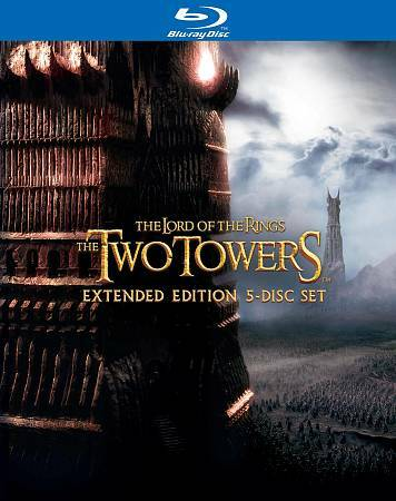 Blu ray Review: LOTR The Two Towers Extended Edition 5 Disc Set