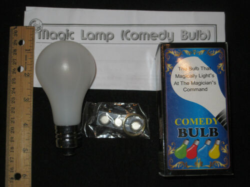 The Magic Lamp Trick - The Bulb That Magically Lights At The Magician's Command in Collectibles, Fantasy, Mythical & Magic, Magic | eBay