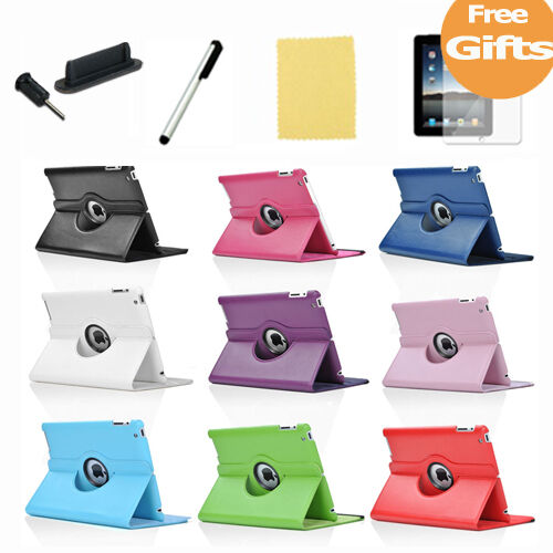 The New iPad 3rd 2 Smart Cover Slim PU Leather Case Wake Sleep Stand Multi-Color in Computers/Tablets & Networking, iPad/Tablet/eBook Accessories, Cases, Covers, Keyboard Folios | eBay