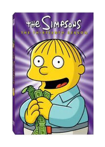 The-Simpsons-Series-13-Complete-DVD-2010-4-Disc-Set