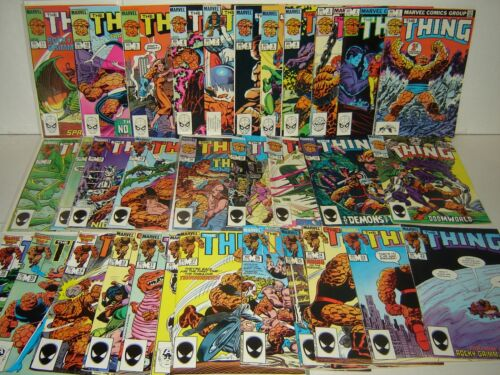 The Thing 1-36 Complete SET! Fantastic Four! 36 Marvel Comics (bd-2029) in Collectibles, Comics, Full Runs & Sets | eBay