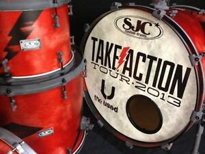 The-Used-2013-Take-Action-Tour-Official-SJC-Custom-Drum-Kit