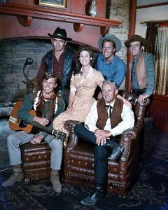 The virginian 60s 70s tv western series cobb drury 11x14 color photo