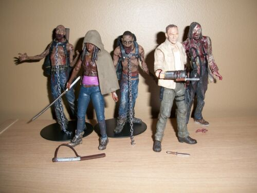 The Walking Dead Series 3 Action Figure set of all 5 figures loose mint complete in Toys & Hobbies, Action Figures, TV, Movie & Video Games | eBay