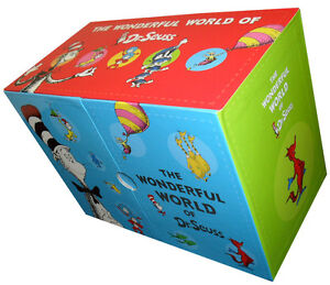 The-Wonderful-World-of-Dr-Seuss-Series-20-Books-Gift-Box-Set-Collection-New