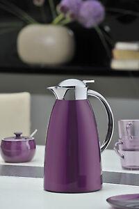thermoskanne kaffee kanne isolierkanne gusto von alfi 1 liter in tollen farben ebay. Black Bedroom Furniture Sets. Home Design Ideas
