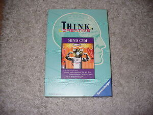 Think-Creative-Mind-Gym-Ravensburger-CD-Rom-neuwertig-in-ovp