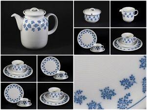 thomas porzellan trend kaffeeservice 21tlg motiv bl tter blau weiss w neu ebay. Black Bedroom Furniture Sets. Home Design Ideas